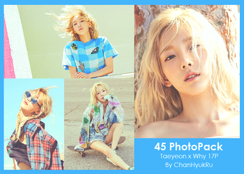 45 / Taeyeon x Why PhotoPack by ChanHyukRu