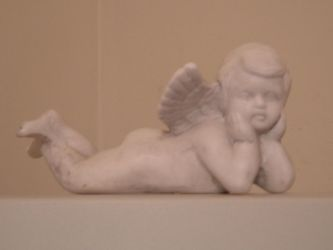 Angel Figurine 002 by immortalis-stock