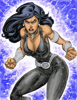 Donna Troy  fights by markdominic
