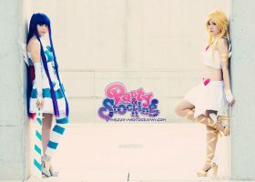 Panty and Stocking - Angels by onlycyn