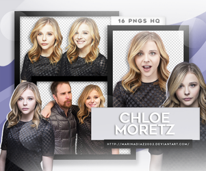 Photopack PNG - Chloe Moretz #19 by MarinaDiaz2002