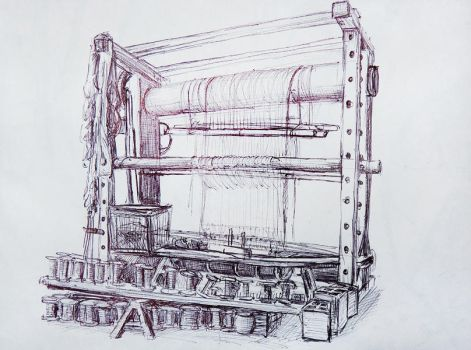 Weaving machine by xNatje