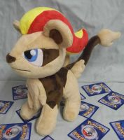 Female Pyroar Custom Plush request