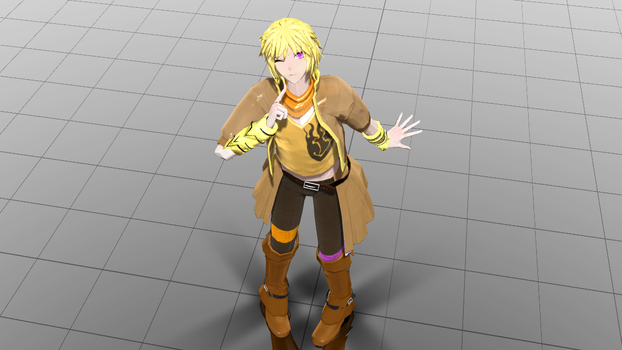 Yang Genderbend- I'm so happy with my creation by DissidiaLovingTear