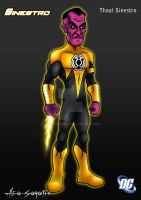 DCU - Sinestro by TheOhToons