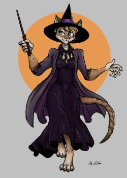 Witchsona # 3 - Shinnie by TheLivingShadow