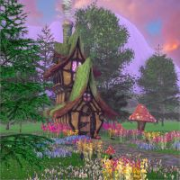 Storybook House - 3d Game Screen by JWraith