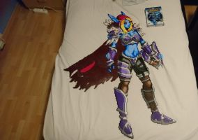 Sylvanas Windrunner 3 - Complete! by MagicPearls