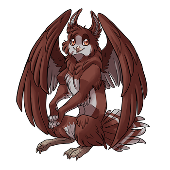 Gryffin by EliaOwl