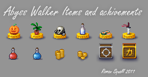 Items and achievements by Roman-SS-Squall