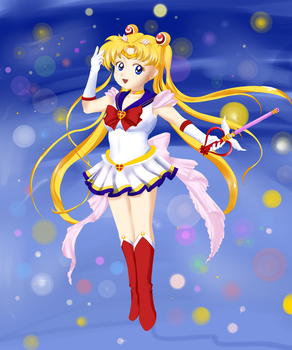 Chibi Sailor Moon by xAlxyz