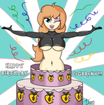 Happy Birthday COGbrony!!! by aj0joe