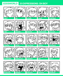 25 Expressions by eddsworld