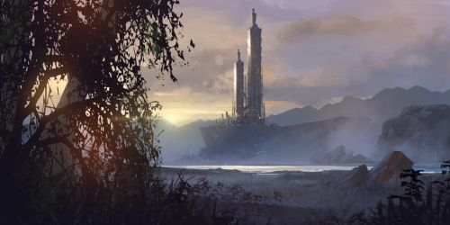 Valley Temple by Future-Infinity
