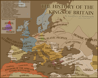 The History Of The Kings of Britain by SRegan