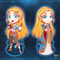 Charmed to meet you- Zelda by hollarity