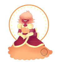 padparadscha  (steven universe) by Cute-Plant-Nerd