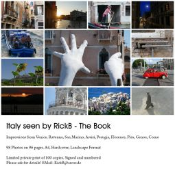 Italy seen by RickB - The Book by RickB500