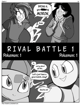Nuzlocke on Ice: Chapter 1, page 16 by Katarinu