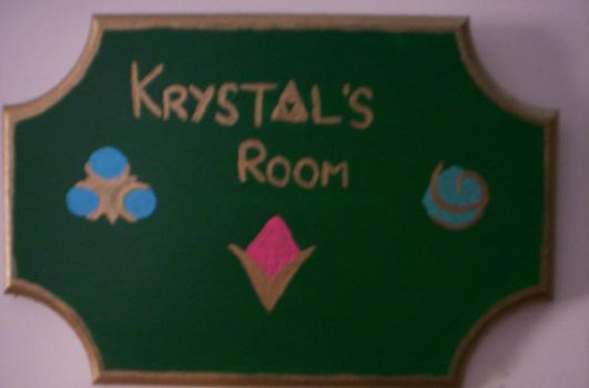 Hyrule-Themed Door nameplate by StormyBabe