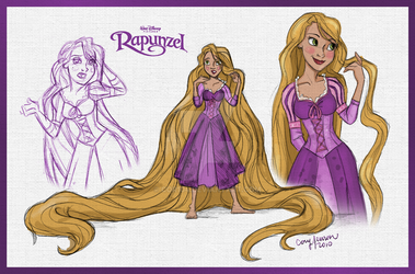 Rapunzel collage by Cor104