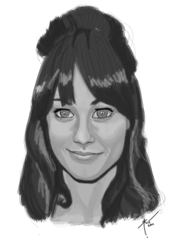 Zooey Deschanel - Red Carpet by pokerins