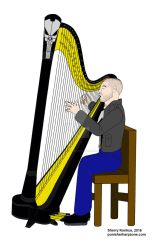 Jon Bernthal as The Punisher performing harp music by OwossoHarpist