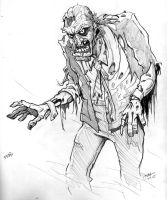 Zombie Number 500 by abnormalbrain