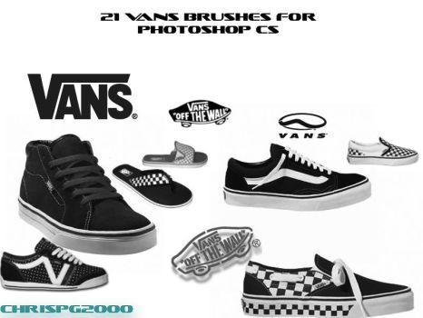 VANS BRUSHES FOR PHOTOSHOP by chrispg2000