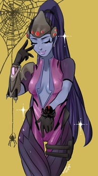widowmaker here by BunnyVoyage