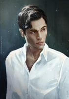 Harry Potter: young Tom Riddle by LittleChmura