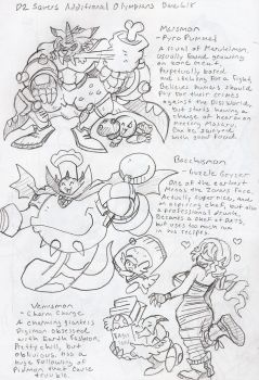 DZSavers: Olympus XII concepts by BlueIke