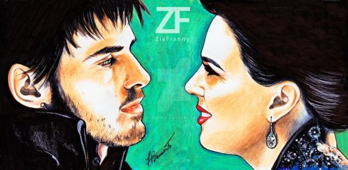 Hook and Regina by Francesca Benevento by ZiaFranny