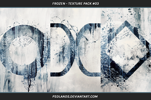 TEXTURE PACK #03 - frozen by psdlands