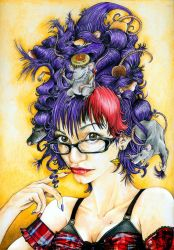 The Girl With Rats In Her Hair by Il-Jarrado