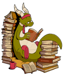 Book wyrm by ThePandamis
