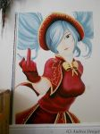 Silent Night Sona Wall Painting by Elegant-Storm