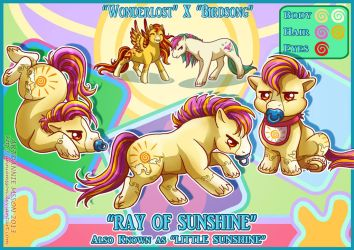 Little Ray of Sunshine by AnnieMsson
