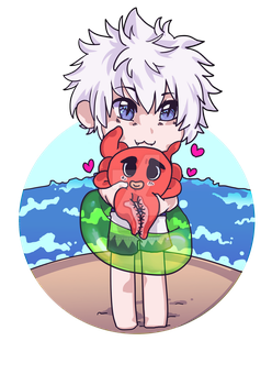 Killua and Ikalgo by MiyuWasHere