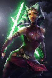 Ahsoka Tano - The Jedi who knew too much by Totemos