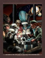 Late Night at the Astro Diner by BWS