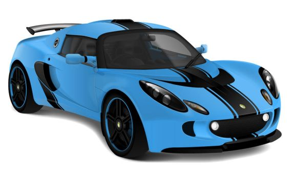 Lotus Exige-S by johnnyinternets