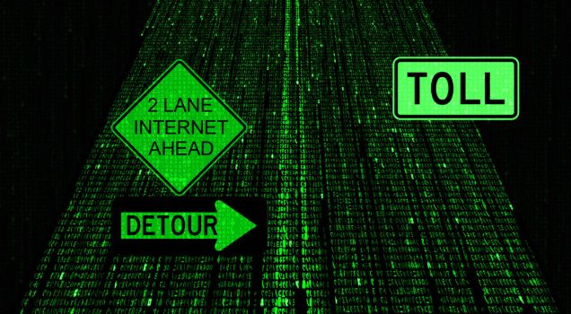 The Information One-Lane Highway by TheNYRD