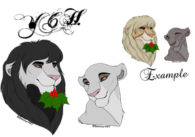 Mistletoe YCH Auction {Open} by SoulsofTheDoomed