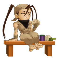Chibi Ibuki Pose 4A by Rhykross