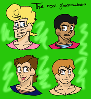 The Real Ghostbusters Remake by Ashartz123