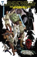 Star Wars Adventures #1 cover - Fan Expo exclusive by TimLevins