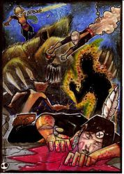 New Mutants Demon Bear Saga by JeremyTreece