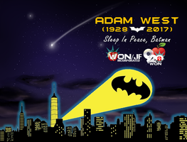 Adam West (1928 - 2017) Sleep In Peace, Batman by WONTV5