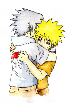 NaruSasu-Lineart Coloured by LACW